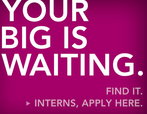 Your big is waiting